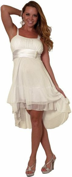 Hot from Hollywood Women's Sleeveless Sheer Gathered Satin Layered Dress: Clothing