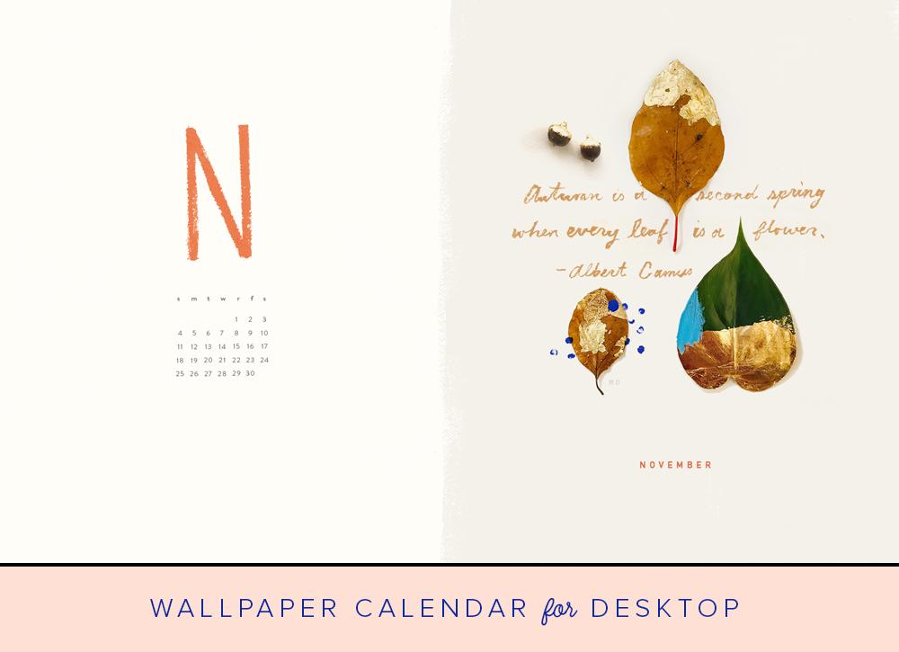 November 2018 Desktop Wallpaper  The House That Lars Built