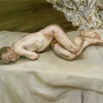Naked-Man-On-a-Bed-Lucian-Freud-1987