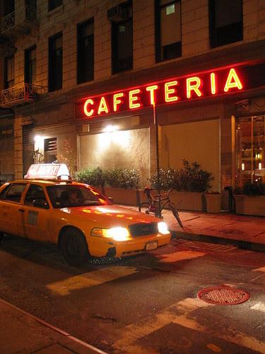 Cafeteria & cab