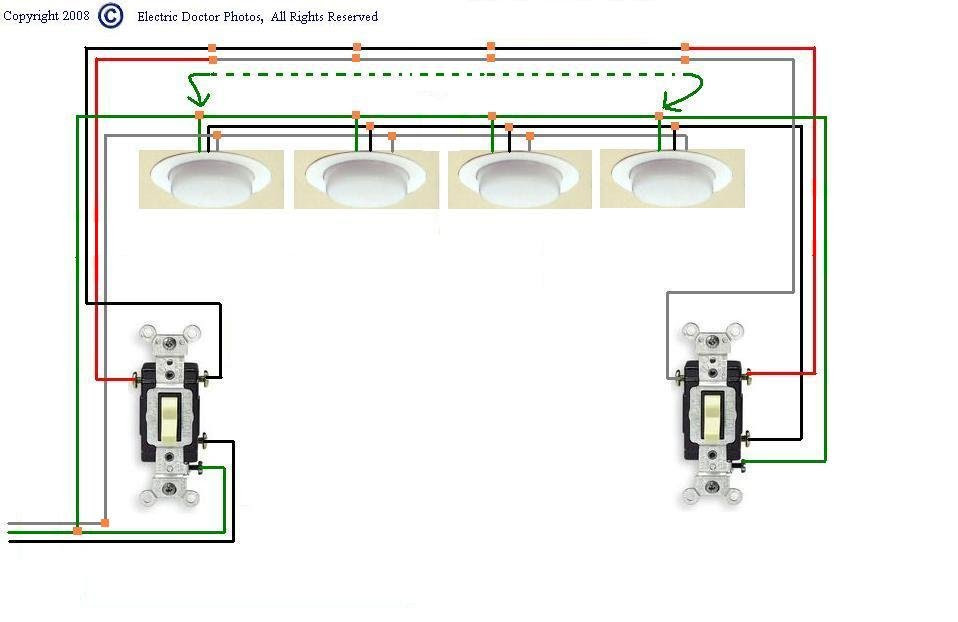 Diagram Wiring 3 Way Switch 4 Lights Diagram Full Version Hd Quality Lights Diagram Diagrambuccia Nowroma It