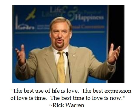 Rick Warren Love