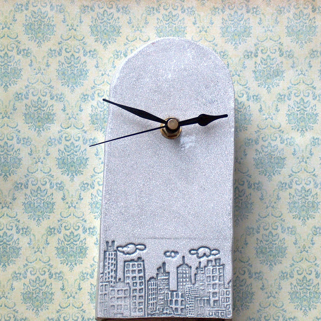 Ceramic Clock by Bread and Butter