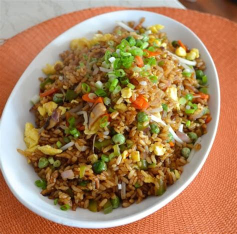 vegetable fried rice recipe dishmaps