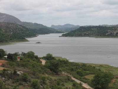Bird's View of Manchinabele Backwaters