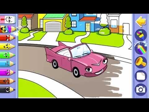 En Iyi Araba Boyama Oyunu Oyna Oyun Skor Hedef Ust Ev Boyama Sayfasi