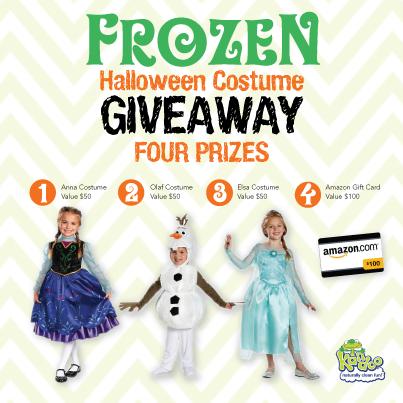 Frozen IG Contest Prizes