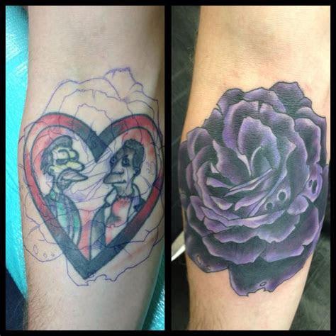 purple rose cover chad whitson bearcat tattoo