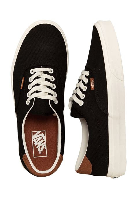 vans era  flannel black shoes impericoncom