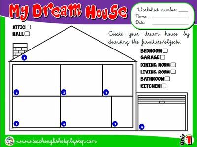 My House - Worksheet 8
