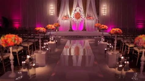 Boston Indian/American Wedding Mandap, Decor, and Floral