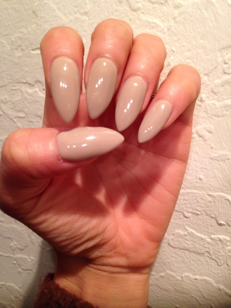 Love my long and pointy nails! They did a great fill on my ...