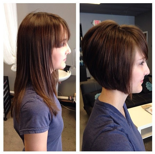 Hairstyles Graduated Bob Back View