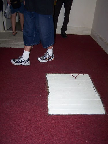 hole in the carpet