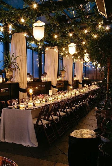 Rooftop Wedding Ideas with Style   Wedding Reception Ideas