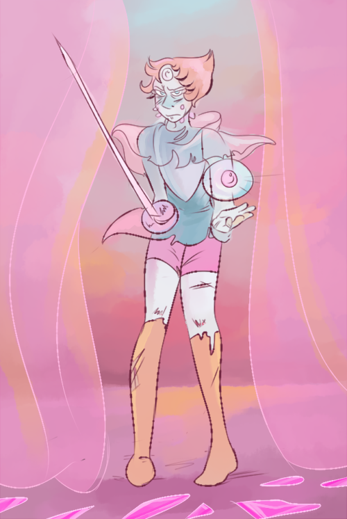 two pearls, many questions. so this is my theory so far. which renegade pearl would have the heart to shatter another pearl, even less make her witness her diamond's murder?