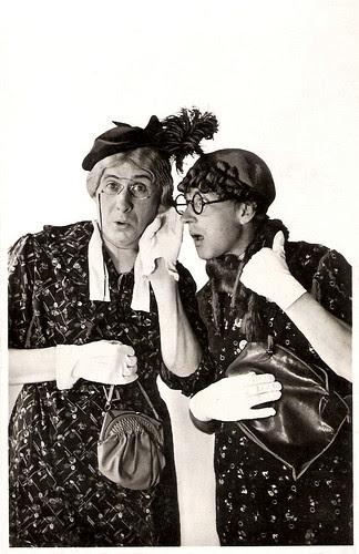 Willy Walden and Piet Muyselaar