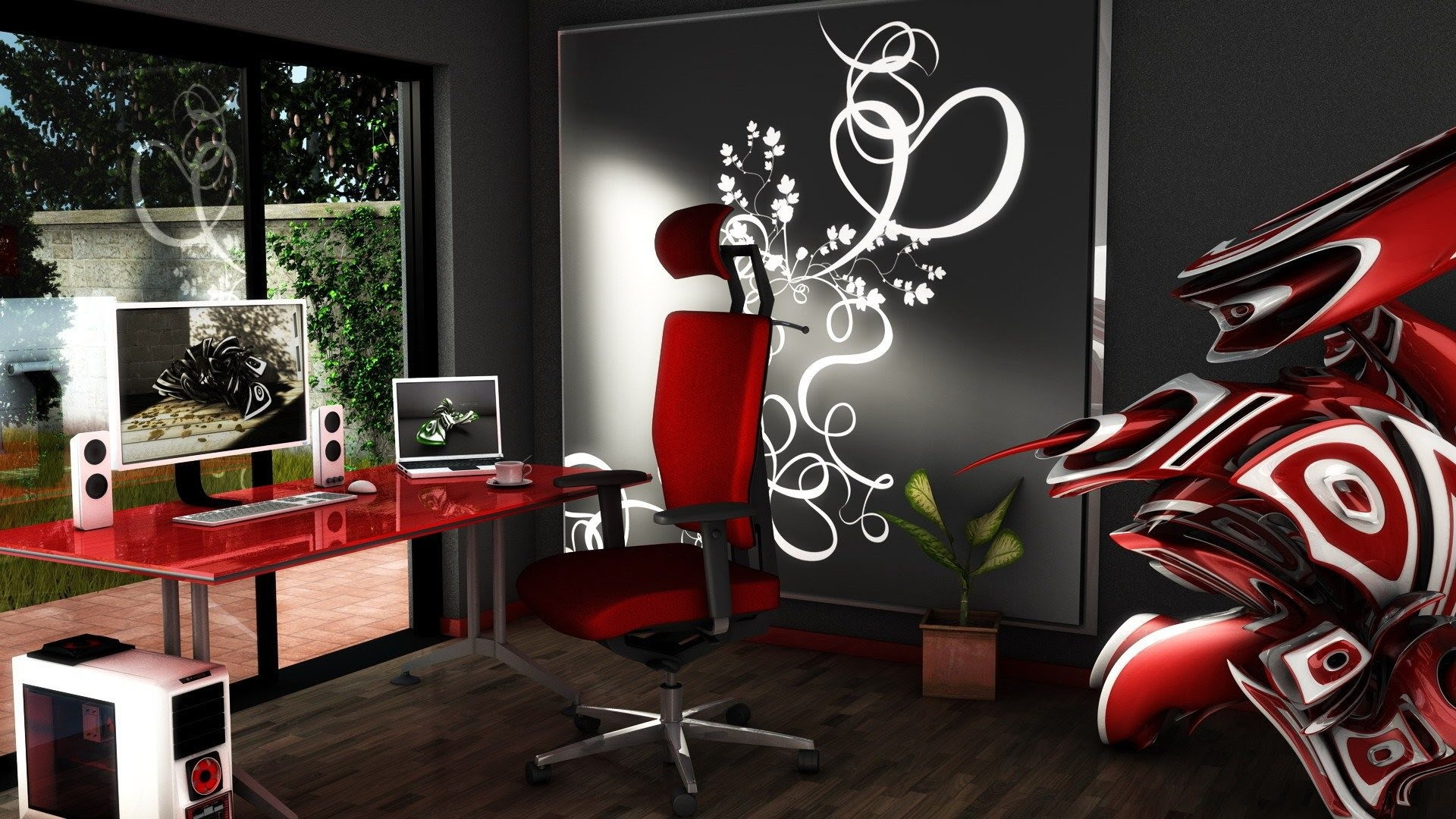 3D office Wallpaper (47+ images)