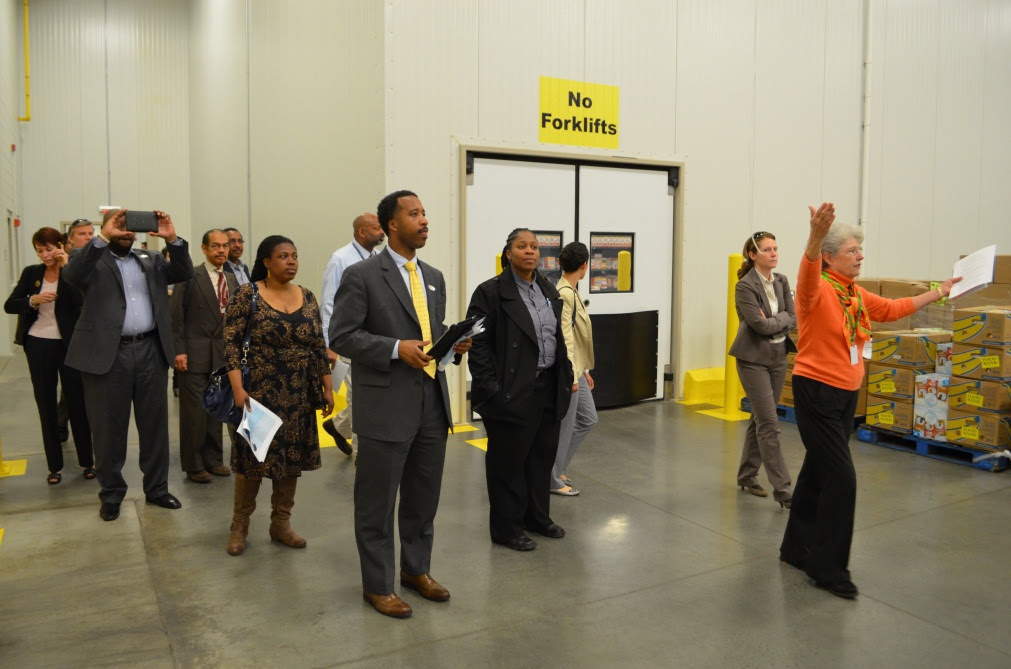 Councilmember McDuffie Tours Ward 5's Industrial Land with Government and Resident Leaders