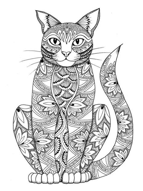 animals coloring pages  adults  printable animals