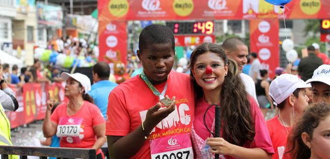 Dos héroes dejó este domingo la Media Maratón de Cali