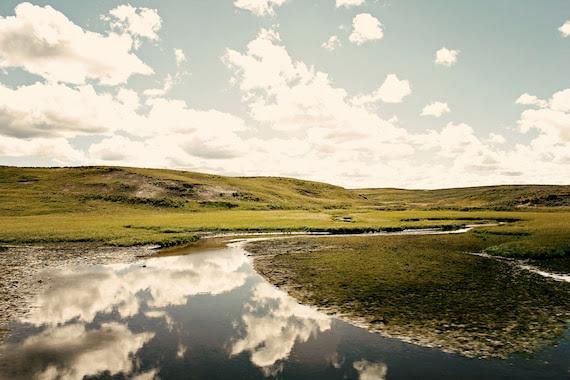 Nature Photograph - Cloud Photograph - Sky - Wyoming - Hayden - Original Signed Fine Art Photograph