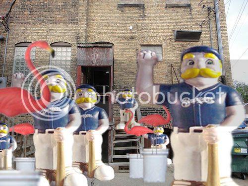 Bernies in the alley