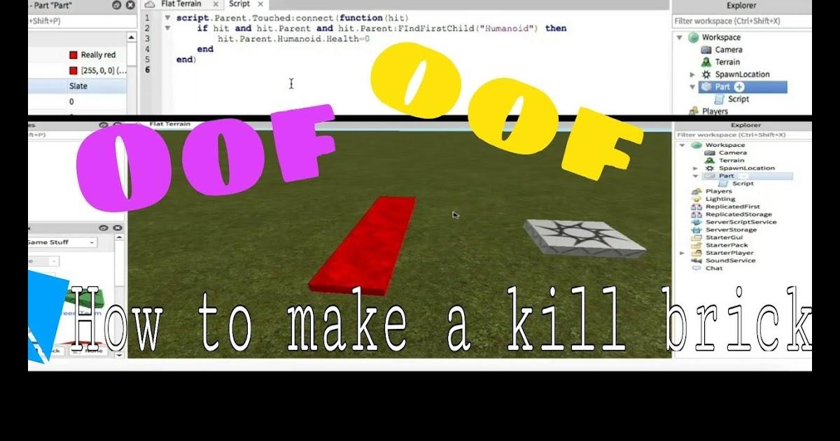 Roblox Kill Script
