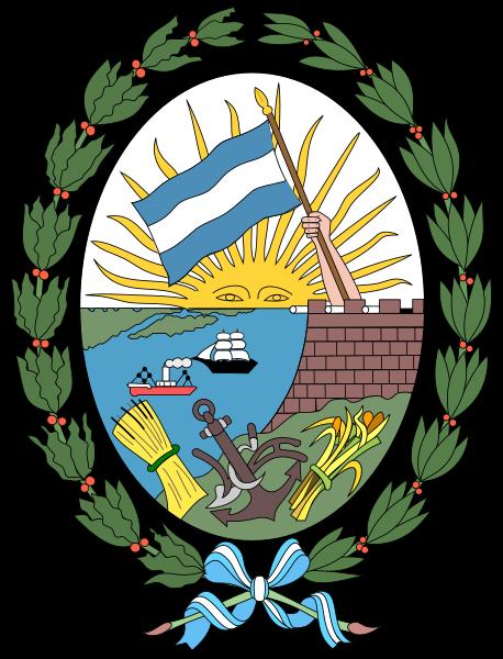 Archivo:Escudo de armas de Rosario.svg