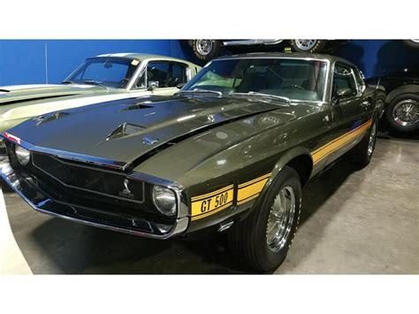 shelby gt  sale classiccarscom cc