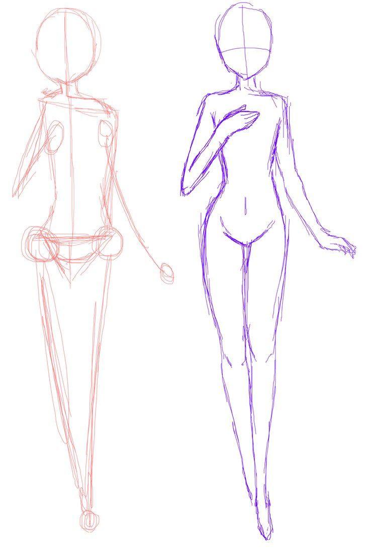 Anime Boy Legs Drawing