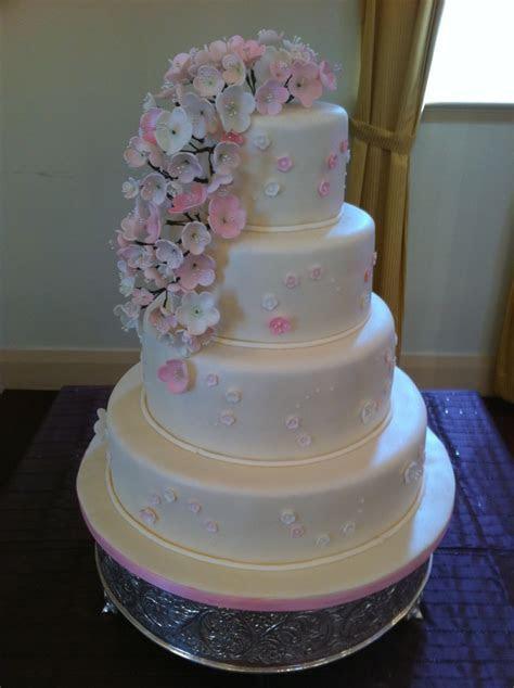 View Wedding Cake   Cherry Blossoms by Natalya   Bridal