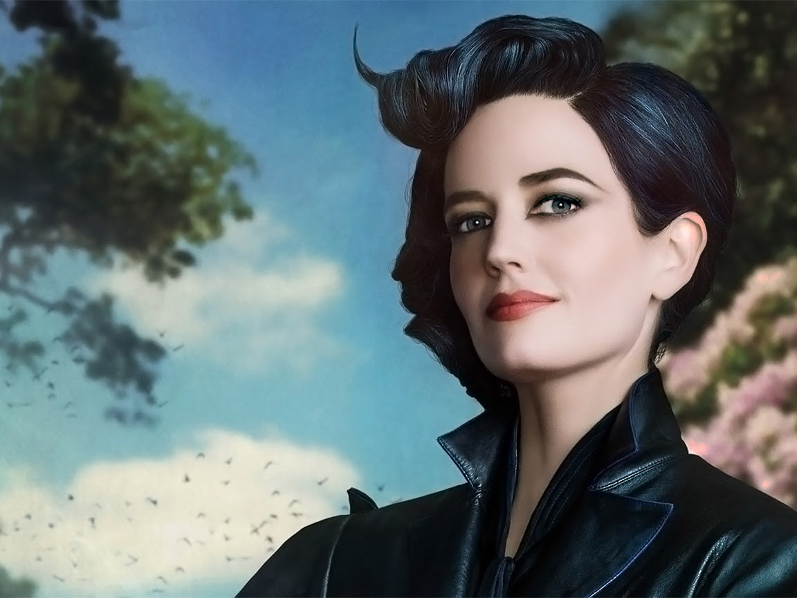1152x864 Eva Green Miss Peregrines Home For Peculiar Children
