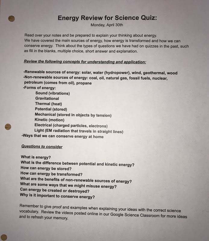 Science Quiz Questions And Answers For Class 5 - QUIZ