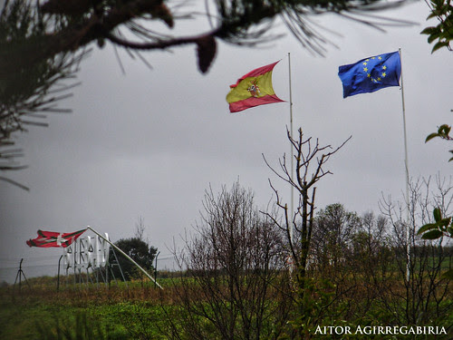 Un temporal azota Euskadi