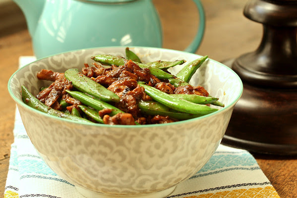 Five Spice Chicken with Sugar Snaps from Karen's Kitchen Stories