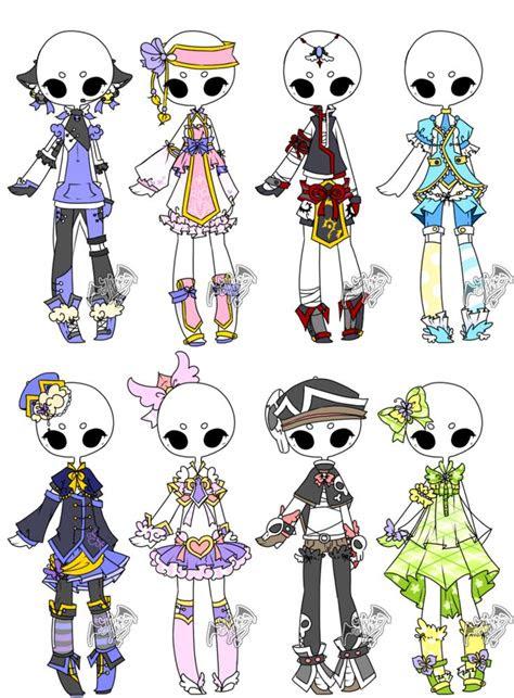 adopted outfit batch   deviladoptsdeviantartcom