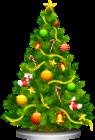 Transparent Christmas Tree Clipart