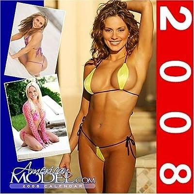 12 2007 american bikini calendar model swimsuit wall x12