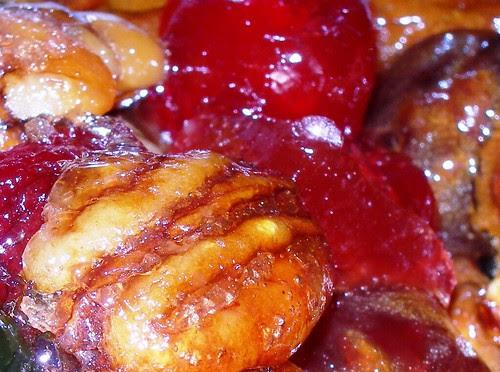Fruitcake Close up