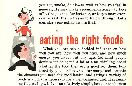 Eating the right foods
