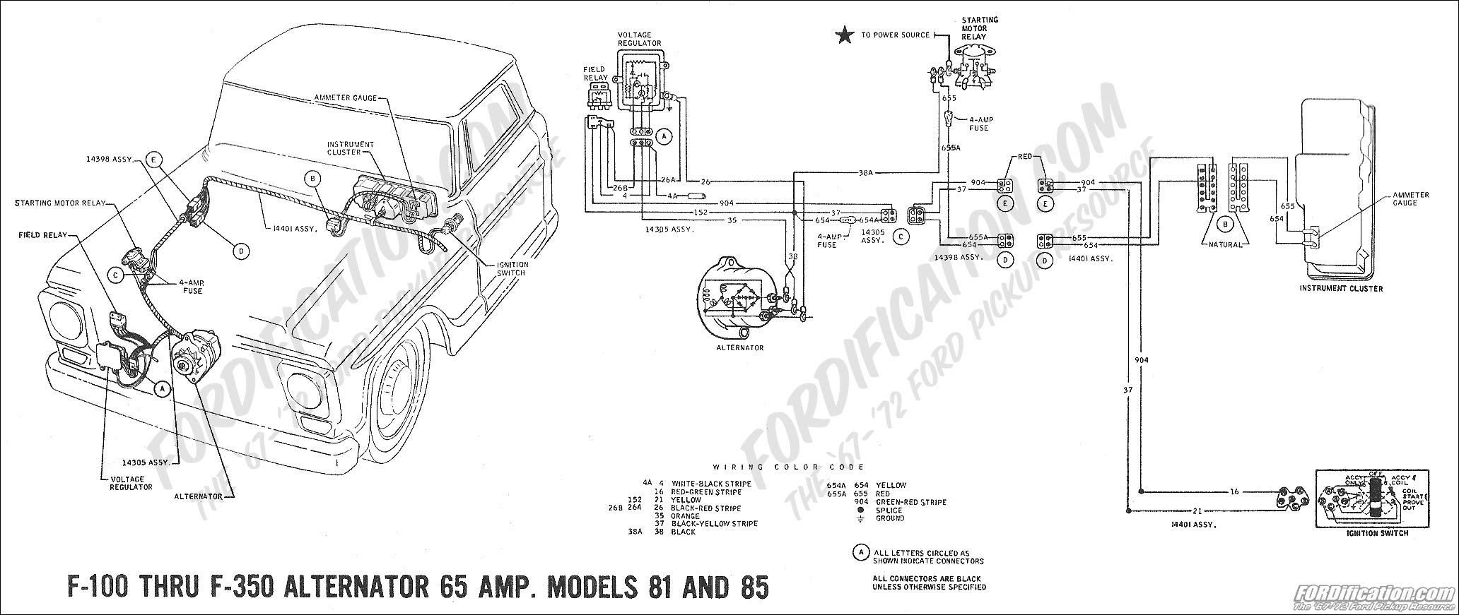 77 Ford Alternator Wiring - Wiring Diagram Networks