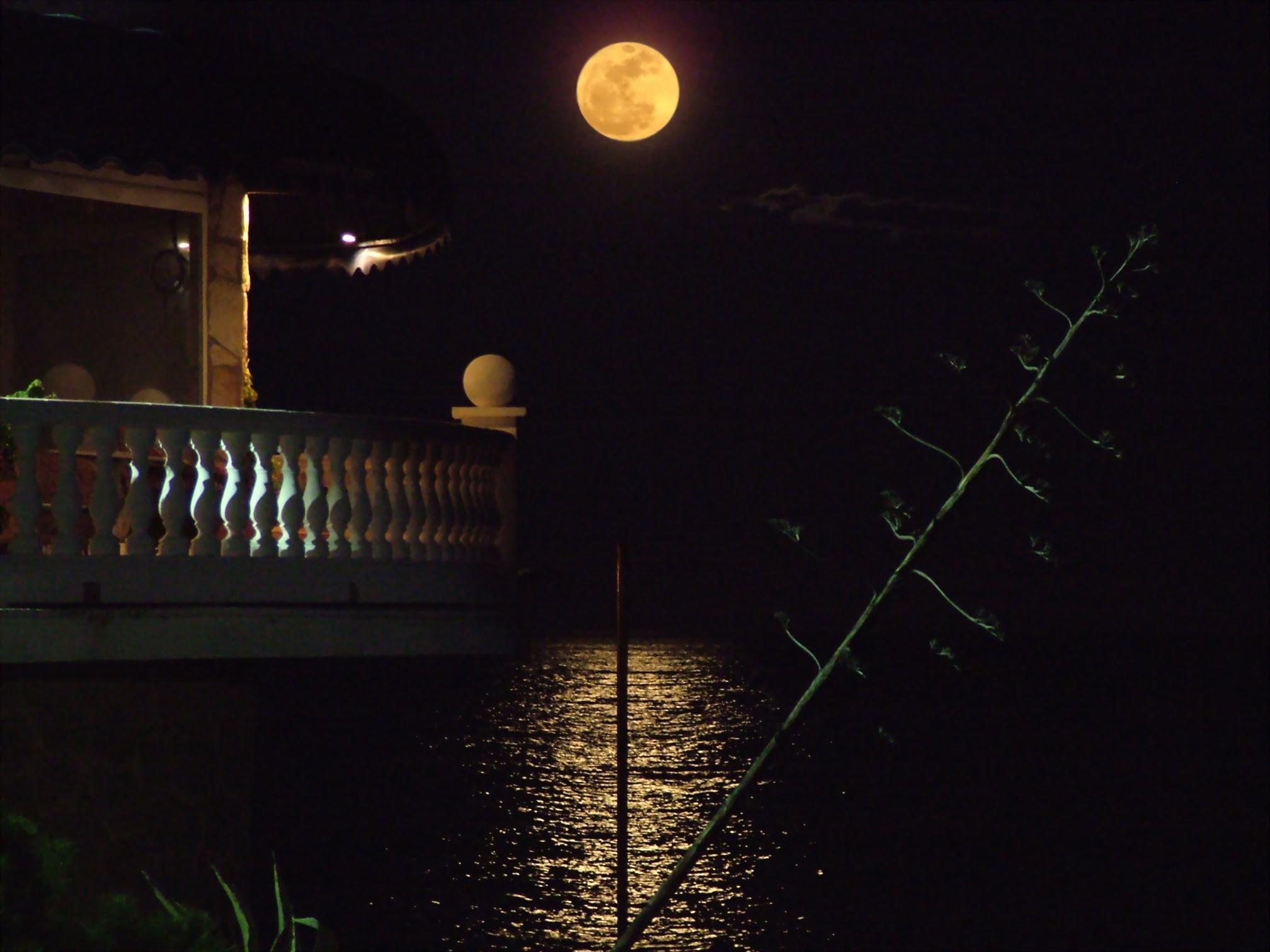 Súper Lluna des de Platja d'Aro