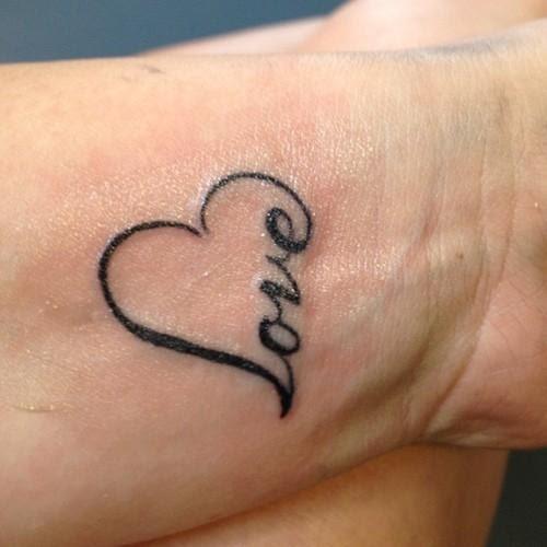 Tatuaje1 Corazon Mujer Amor Y Vida