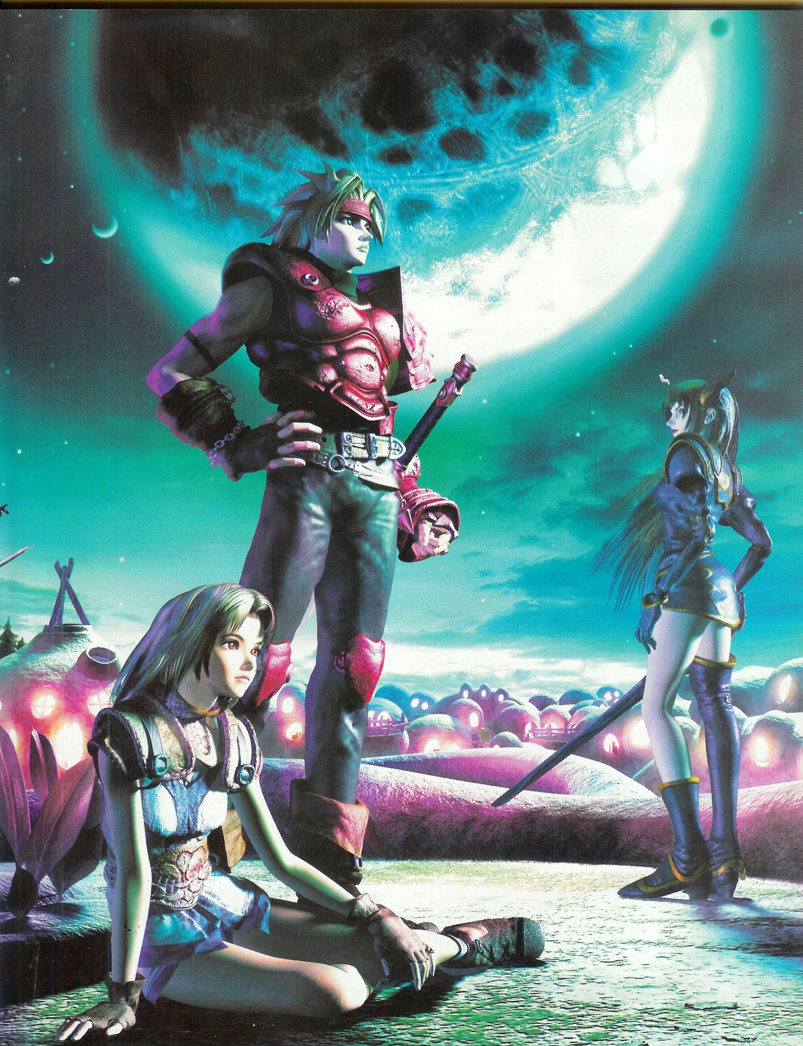 Legend Of Dragoon Wallpaper And Scan Gallery Minitokyo