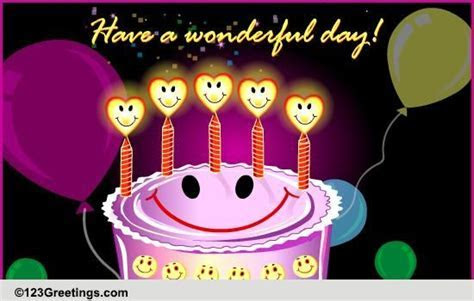 Happy Birthday! Free Smile eCards, Greeting Cards   123