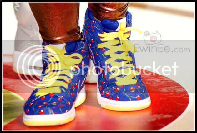 Nike-Blue-Dunk-high-fashion-show
