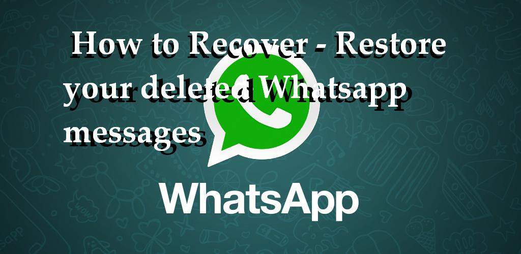 deleted whatsapp messages