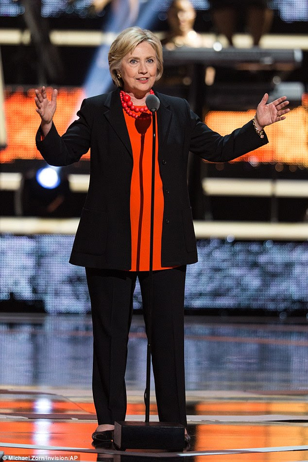Making an entrance! Hilary Clinton took a break from the campaign trail to make an appearance at Black Girls Rock!