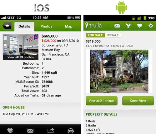 Aplikasi dari Trulia